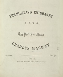 The Highland Emigrants part 01